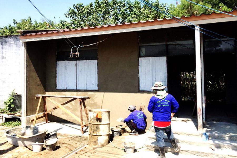 โครงการปรับปรุงบ้านพักฯท่าอากาศยานลำปาง