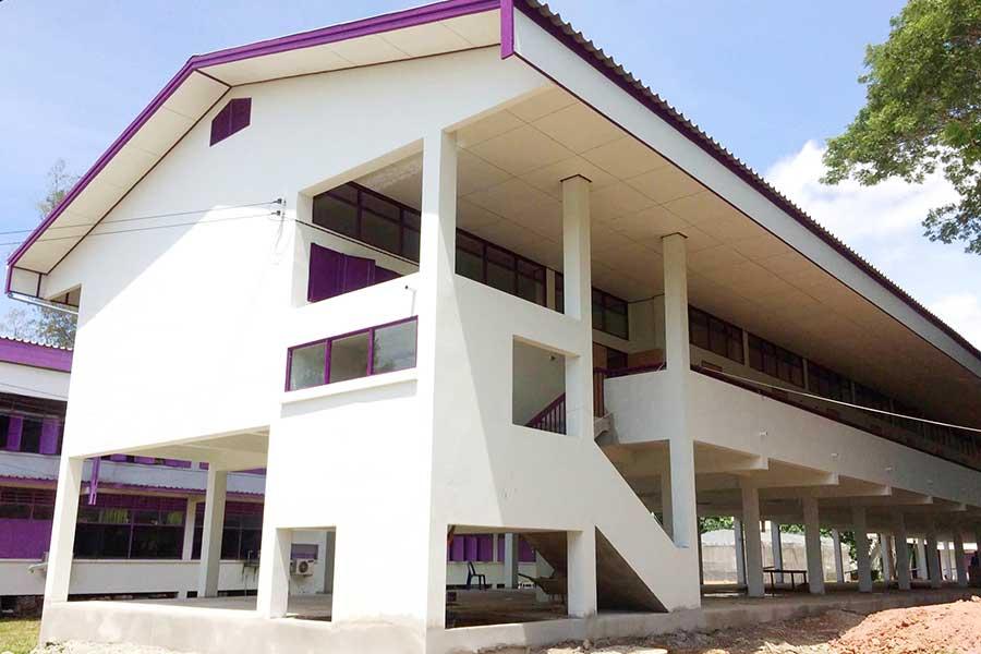 อาคารเรียน 108 ล30 ณ โรงเรียนสา อำเภอเวียงสา จังหวัดน่าน
